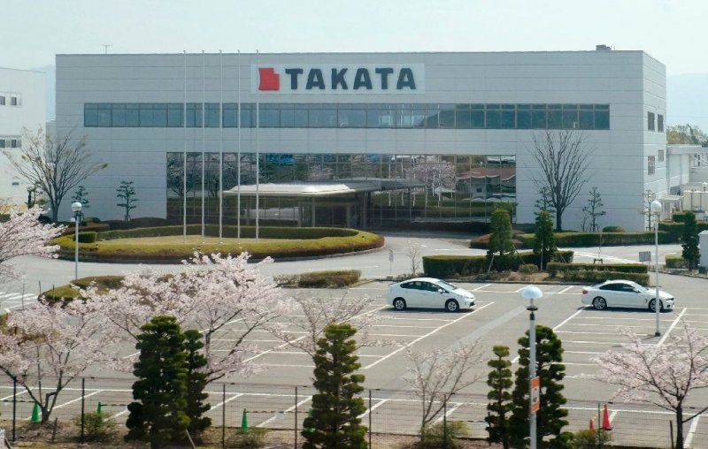 Takata Corp. filed for bankruptcy protection
