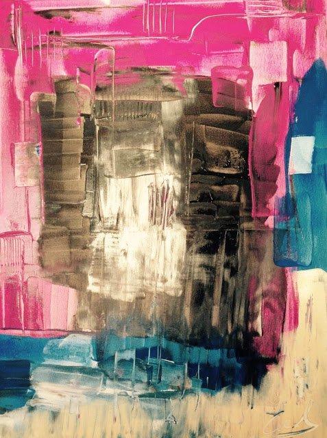 Exposition Art Blog: Cindy Geraert - Abstract Painting