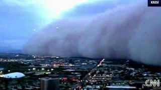 UFO's filmed by news chopper Arizona