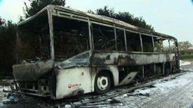 Guilers (29) : un car en feu, les lycéens évacués - France 3 Bretagne