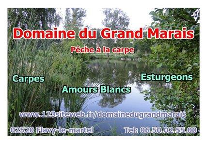 Ma page d'accueil - www.123siteweb.fr/domainedugrandmarais