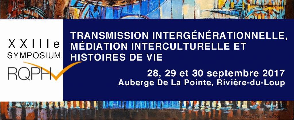 Symposiums - Réseau québécois pour la pratique des histoires de vie
