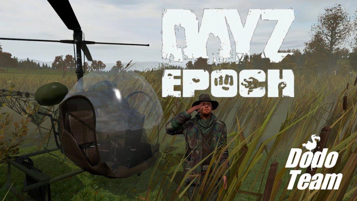 DayZ Epoch - Bell 47 AH-13H Notlanden