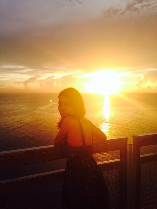"""大島優子 sur Twitter : """"GUAMに私が行きました!#ウーマンオンザプラネット http://t.co/UJnEdIY04U"""""""