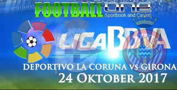 Prediksi DEPORTIVO LA CORUNA vs GIRONA 24 Oktober 2017