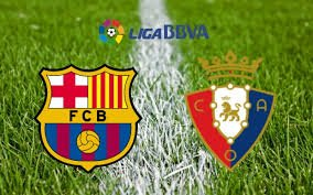 Prediksi Barcelona vs Osasuna 27 April 2017