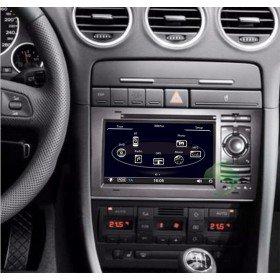 Auto DVD Player GPS Navigationssystem für Audi RS4(2002 2003 2004 2005 2006 2007 2008)