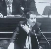 Logorrhée antisémite de Laurent Louis à la tribune de la Chambre