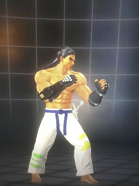 Customization Jin Kazama Tekken Tag Tournament 2 WII U  EDITION / 1 Customization