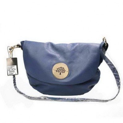 Modern Mulberry Daria Satchel Shoulder Bag Blue For Sale Kuala Lumpur