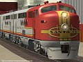 Hawk & Badger Railroad - Microsoft Train Simulator - The Tunnel Route Page