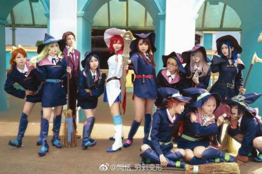 Cosplay Little Witch Academia