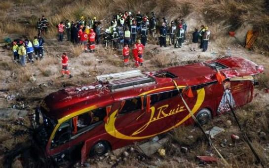 VIDEO. Espagne : 14 morts dans l'accident de car, la vitesse en cause