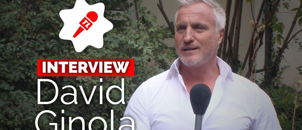 """David Ginola (La France a un incroyable talent) : """"Aujourd'hui, je suis là… Rien que ça, ça me rassure !""""(VIDEO)"""