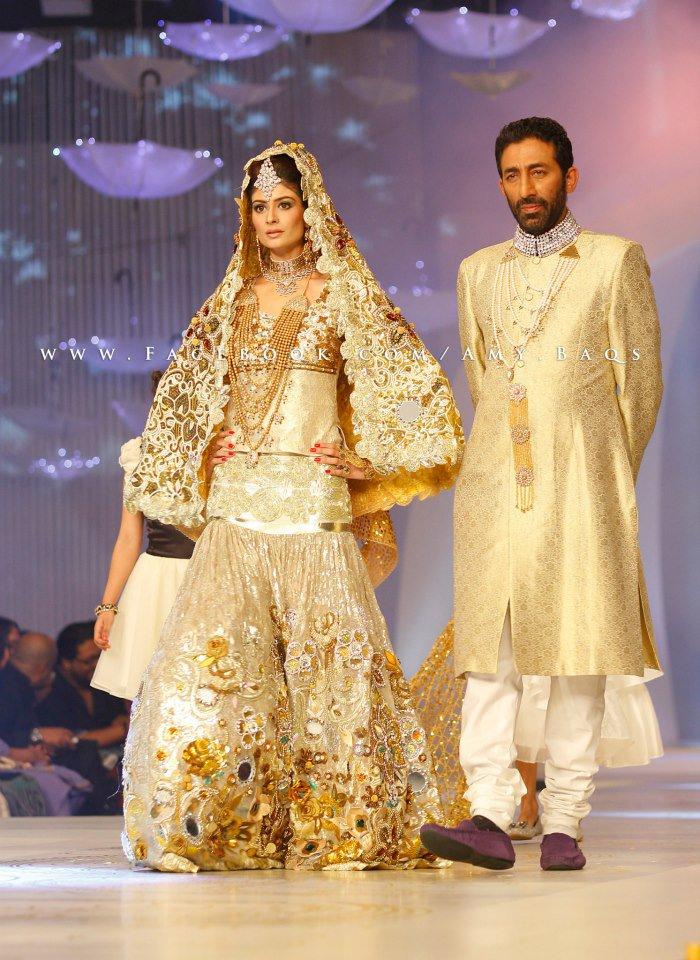 Pakistani Fashion Style: Nadya Mistry Collection at Pantene Bridal Couture Week 2013