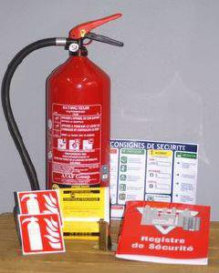 Installation et mise en service extincteurs - PREV SECURITE 62