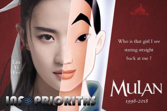 Si Cantik Liu Yifei Terpilih Jadi Mulan