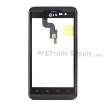 LG Optimus 3D P920, Thrill P925 Digitizer Touch Panel with Front Housing