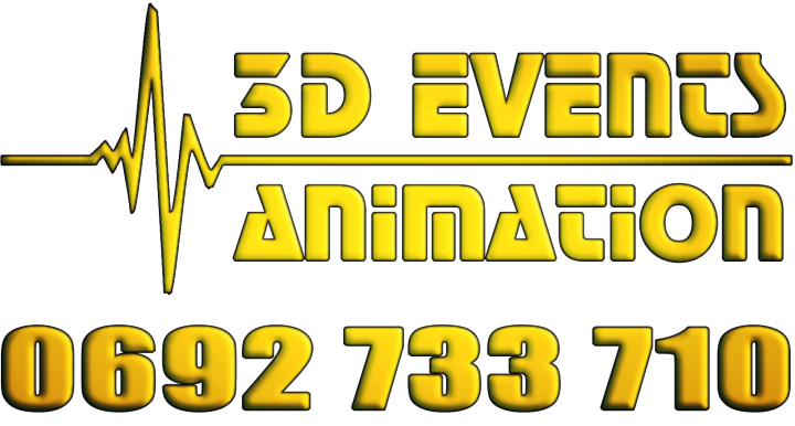 3D Events Animation on Strikingly