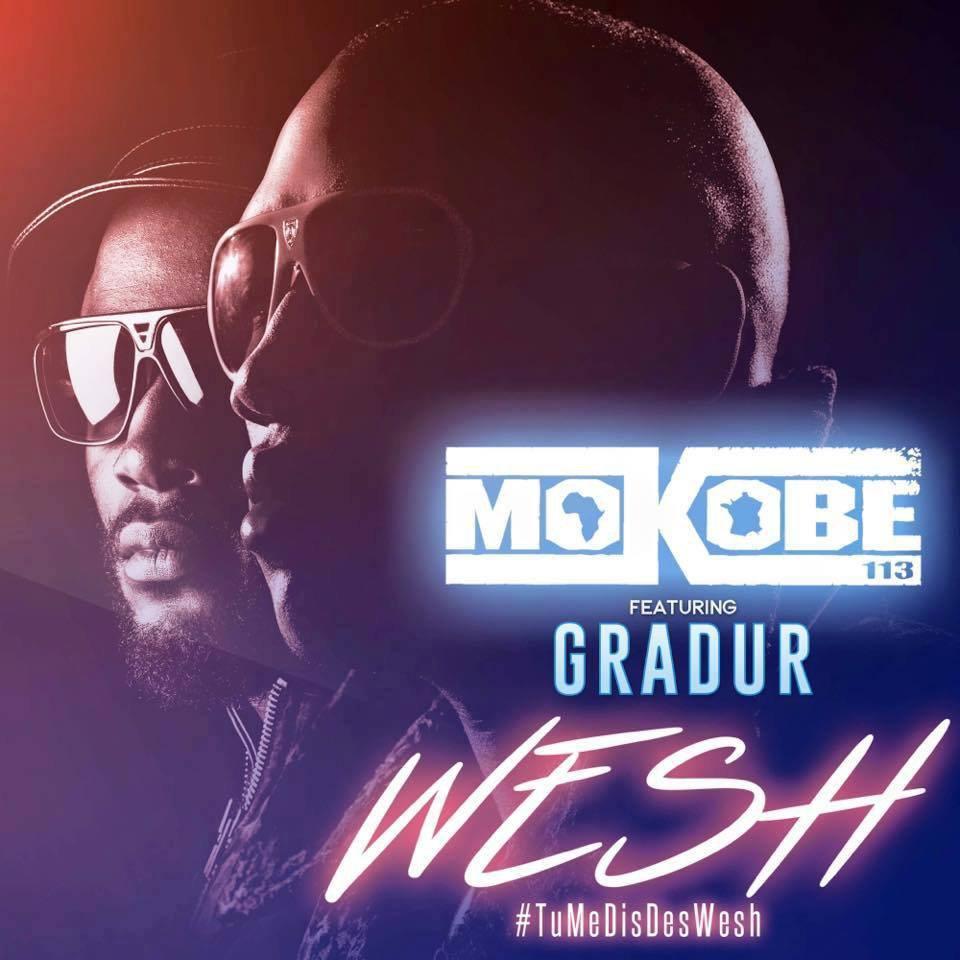 """Découvrez le nouveau clip de Mokobé """" Wesh """" avec Gradur"""