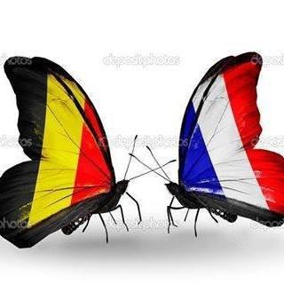 De tout cœur avec mes amis belges et tout le peuple belge que l'on...