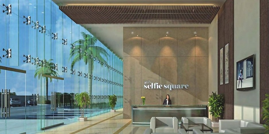 Amb Selfie Square, office space in dwarka