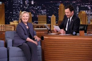 "Hillary Clinton, Jimmy Fallon Video: Watch ""Tonight Show"" Interview"
