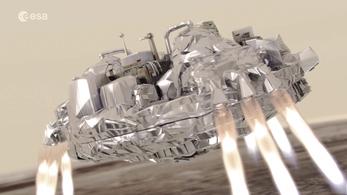 Schiaparelli's descent to Mars