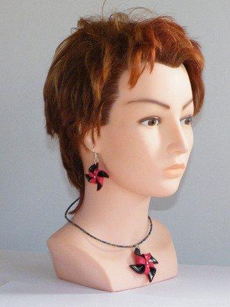 Parures collier et boucle d'oreille éolienne : Parure par jl-bijoux-creation