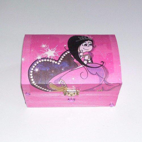 Boîte à bijoux fée