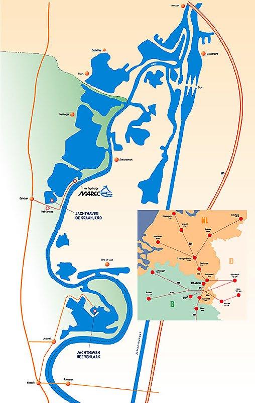 Exploration des bras de Meuse à Maasbracht | Kairos Peniche