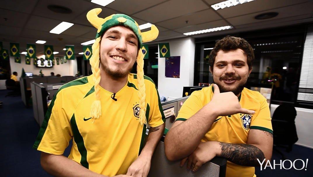 Eita! na Copa - Neymar se fantasia de Miley Cyrus | Ver o vídeo - Yahoo Yahoo Brasil TV Brasil