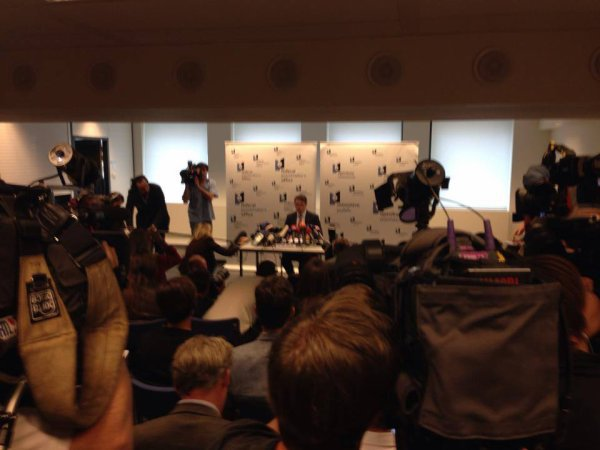Affaire Mehdi Nemmouche : conférence de presse donnée par le procur...