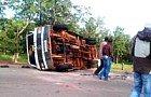 Accident spectaculaire à Koumbia : Sept blessés dont un cas grave