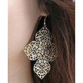 Boucles d'oreilles pendantes, or/argent, femme sur PriceMinister