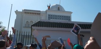 Drapeau algérien arraché au Maroc : déversement de colère contre le Maroc sur les réseaux sociaux