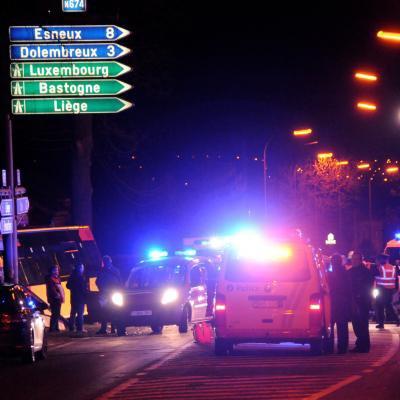 Sprimont: quatre blessés, dont deux graves, dans un crash entre un bus du TEC et une voiture