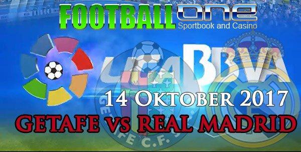 Prediksi GETAFE vs REAL MADRID 14 Oktober 2017