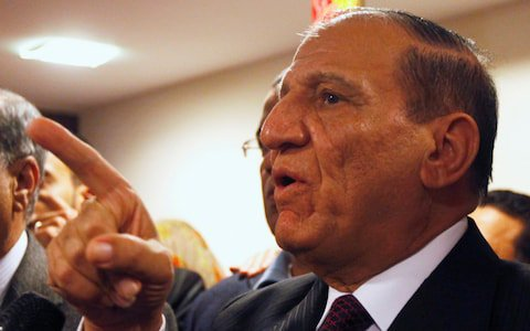 Egypt 'arrests former general Sami Anan' who planned to challenge Sisi in elections