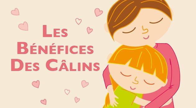 Infographie : Les Bénéfices des Câlins - Blog Hop'Toys