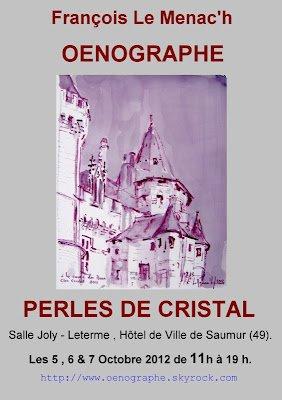 Jim's Loire: François Le Menac'h – oenographe@Saumur 6th-8th October