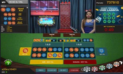 Agen Judi Head Tail Live Online Uang Asli Terpercaya