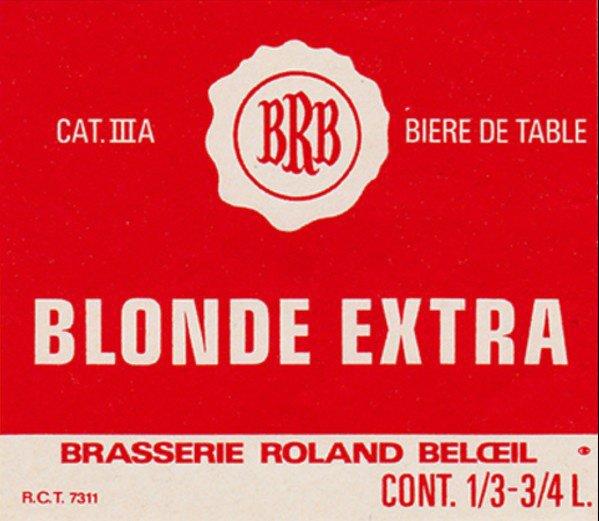 Br. Roland Beloeil (BRB) - Blonde Extra