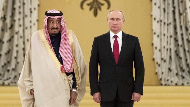 Saudi Arabia met with Trump and Putin. This is the outcome.