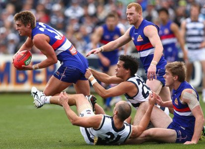 AFL Live – Round 16 – Geelong Cats vs Western Bulldogs – 6th July