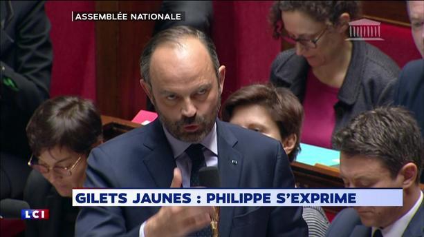 EN DIRECT - Gilets jaunes : le gouvernement détaille les mesures à l'Assemblée nationale