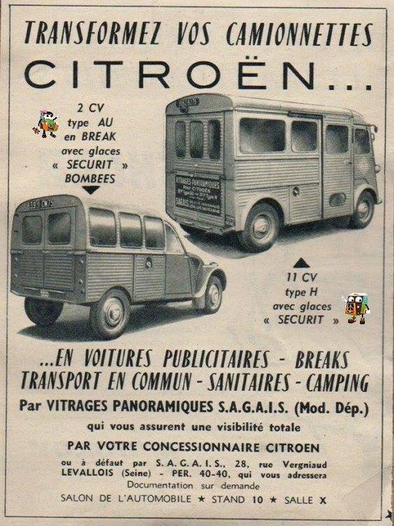 Transformet vos Camionnettes   Citroen traction, Citroen car, Retro cars