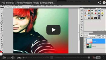 Photoshop Tutorials- Getting A Special Effect on Your Own Photographs