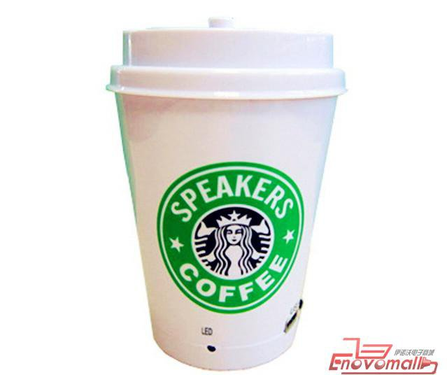 Mini-parleurs portables Fanta Coca Cola Pepsi 7up Nescafé Sprite KFC Créatifs Cadeaux Starbucks coffes ALTAVOCES coche