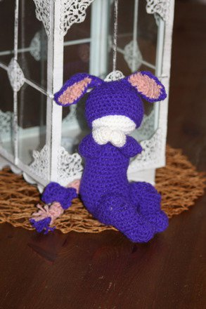 Bébé pyjama bourriquet âne tendresse au crochet fait main : Jeux, peluches, doudous par kelvina-crochet-creations